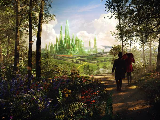 Oz The Great And Powerful Landscape 03
