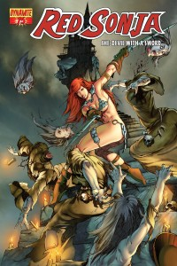 Frozen Animated Wallpaper Comic Review Red Sonja 75