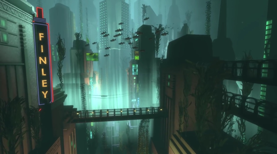 The Legend Of Zelda Hd Wallpaper Video Shows Areas Of Bioshock You Can T Explore While