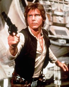 1994 - Harrison Ford in a scene from the film Star Wars. ORG XMIT: UT2983