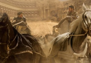 Toby Kebbell plays Messala Severus and Jack Huston plays Judah Ben-Hur in Ben-Hur from Metro-Goldwyn-Mayer Pictures and Paramount Pictures.