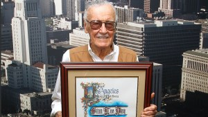 LOS ANGELES, CA - SEPTEMBER 27:  Comic Book Writer Stan Lee attends the Los Angeles City Hall commemorates Friday October 28 as Stan Lee Day at Los Angeles City Hall on September 27, 2016 in Los Angeles, California.  (Photo by Tommaso Boddi/WireImage)