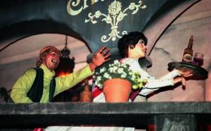 The pirates still chase the wenches Pirates of the Caribbean ride at Disneyland, but starting in 1997, it was changed to chasing women with food and wine, instead of just the women. (File photo by: Bruce Chambers, Orange County Register/SCNG)