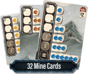 Ore: The Mining Game Mine Cards