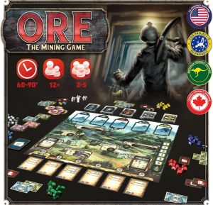 Ore: The Mining Game Contents