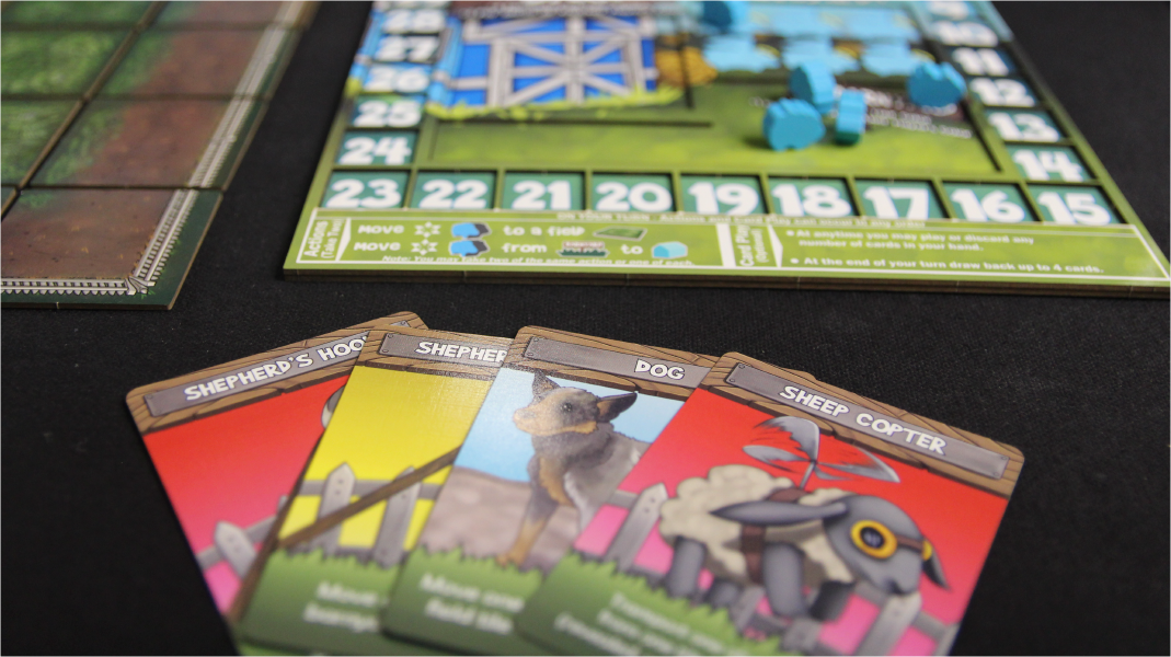 Sheep-Boom-Bah boards and cards.
