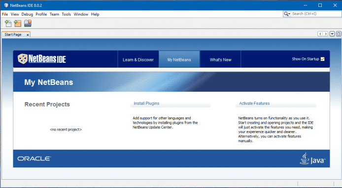 NetBeans Home Page