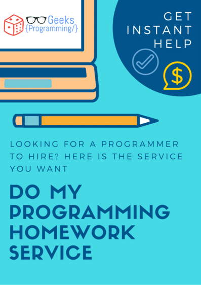 do my programming homework for me