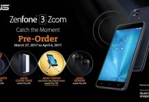 ASUS ZenFone 3 Zoom Pre-order Freebies