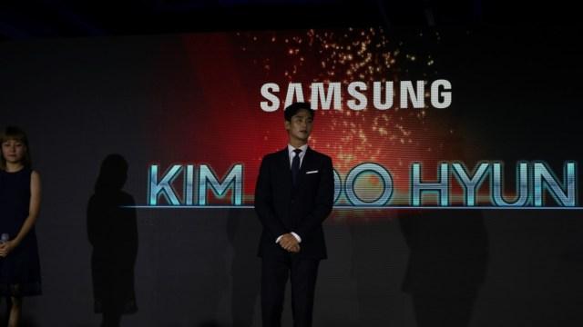 Kim Soo Hyun, at Samsung QLED TV Event at Okada Manila