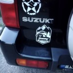 Waterproof Five-Pointed Star Body Car Styling Reflective Vinyl Sticker Refitting Exterior Decals for SUZUKI JIMNY Swift etc photo review