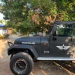 Jeep Wrangler Engine Hood Fender Side
