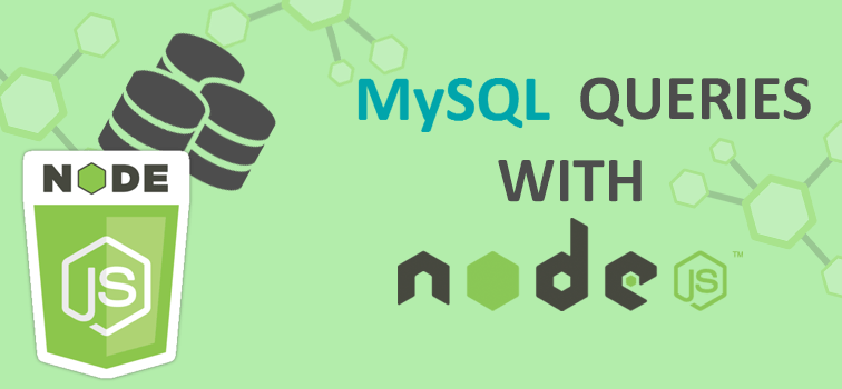 Beginning With NodeJS And MySql Queries