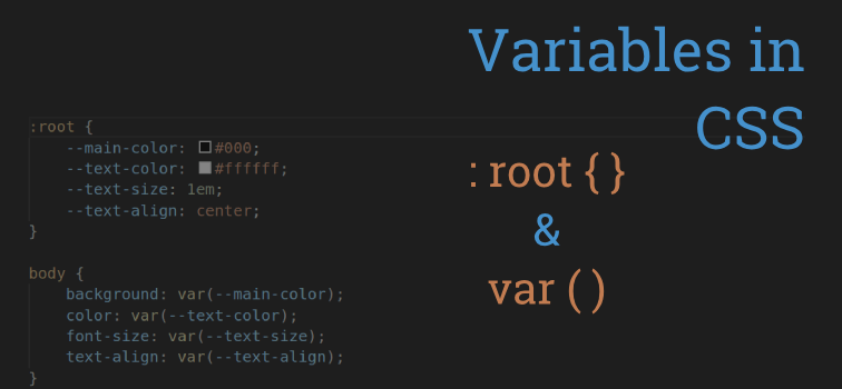 Variables In CSS Are Great - Support In Most Of Browser