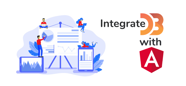 Integrate d3 with angular 9