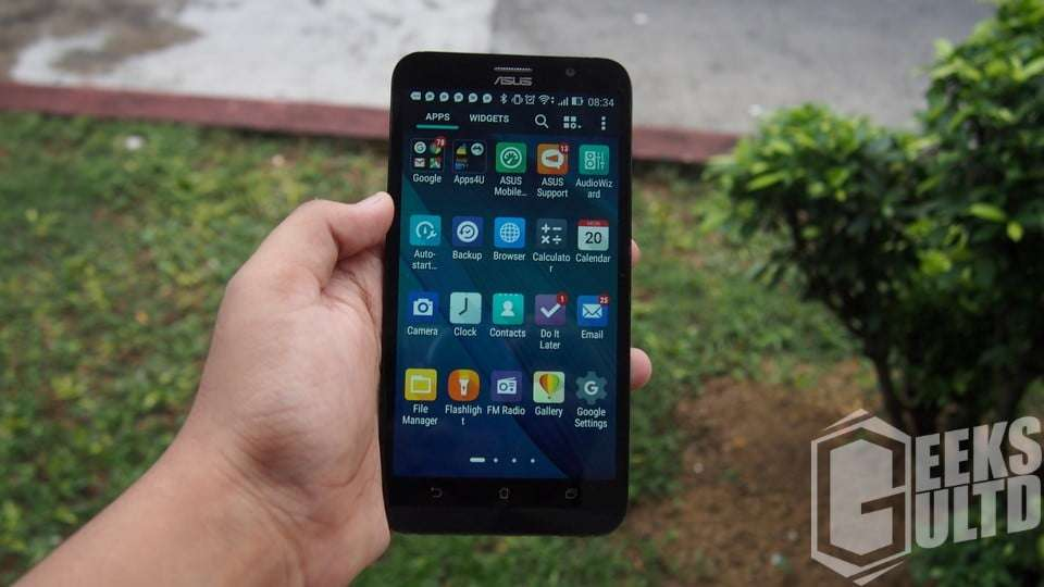 Asus's Zen UI in Action on the ZB551KL based on Android 5.1 Lollipop