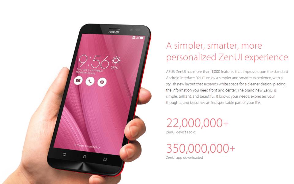Zenfone Go ZENUI