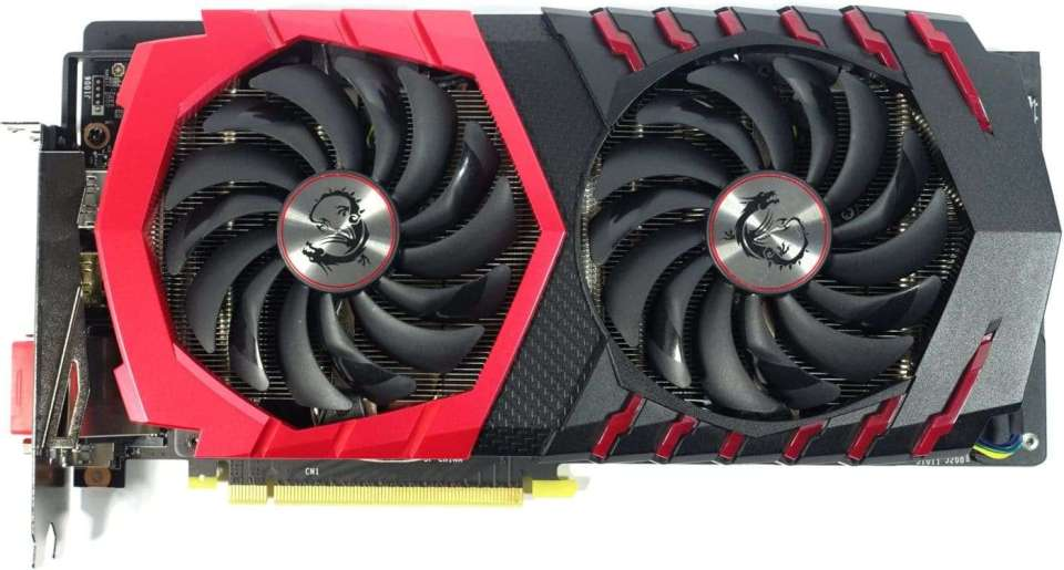 MSI GeForce GTX 1060 Gaming X Smiles for Camera