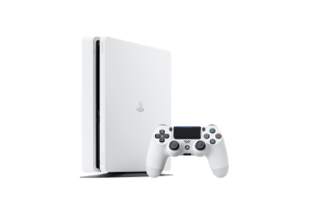 PS4 Slim Glacier White #3