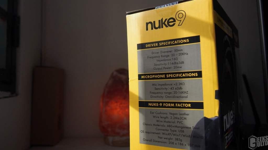 Armaggeddon Nuke9 7.1 Gaming Headset Review - GeeksULTD 4