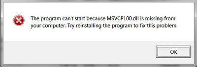 Recovering  msvcr100.dll For Free
