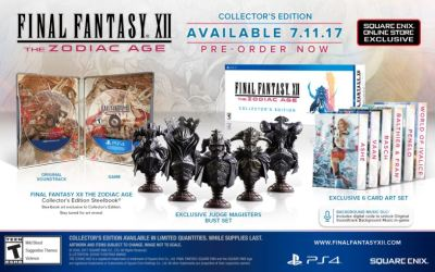 FINAL FANTASY XII THE ZODIAC AGE COLLECTOR'S EDITION UNVEILED