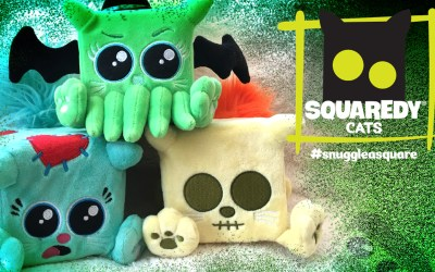 Independent Toy Designers Reboot Squaredy Cats