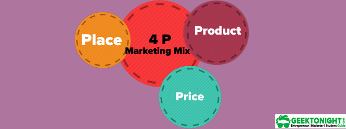 4Ps of Marketing Mix - Geektonight