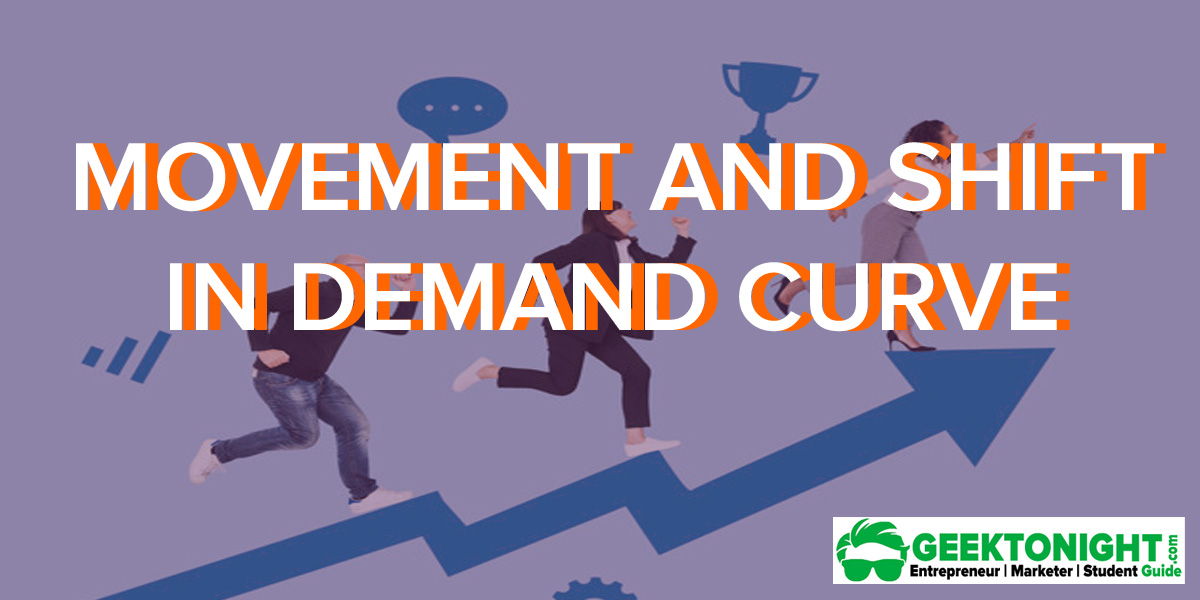 Movement and Shift In Demand Curve | Economics