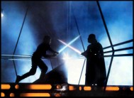 The Empire Strikes Back - Vader vs Luke
