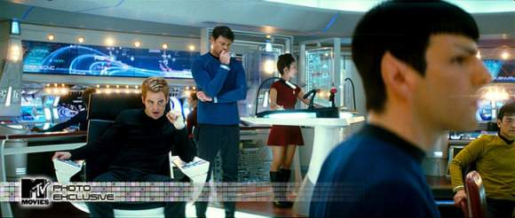 star trek new bridge U.S.S. Enterprise