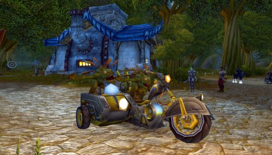 2 Murlocs (kinda) and a motorbike