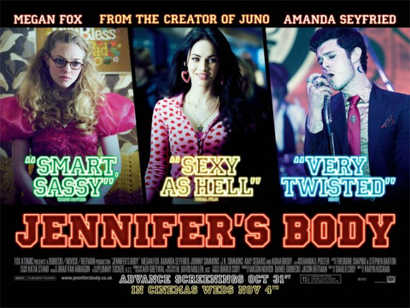 Jennifers Body - In UK Cinemas from November 4th 2009