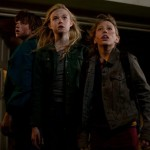 Elle Fanning, Joel Courtney and Ryan Lee in Super 8