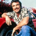 Magnum P.I. and his glorious moustache.