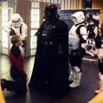 Darth Vader & a Federation officer