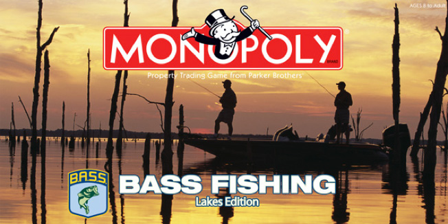 Bass Fishing Monopoly