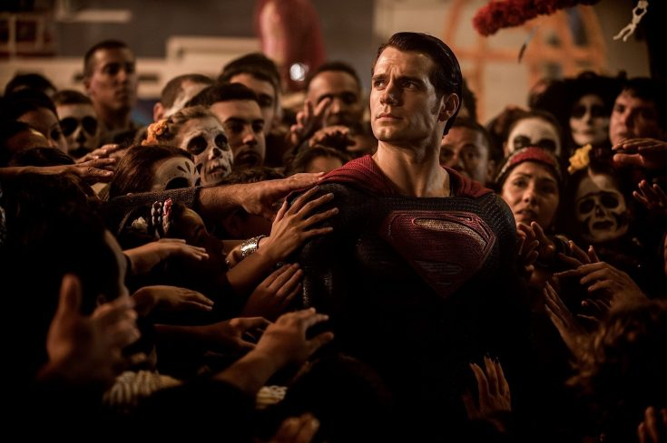 Superman and his adoring? fans?