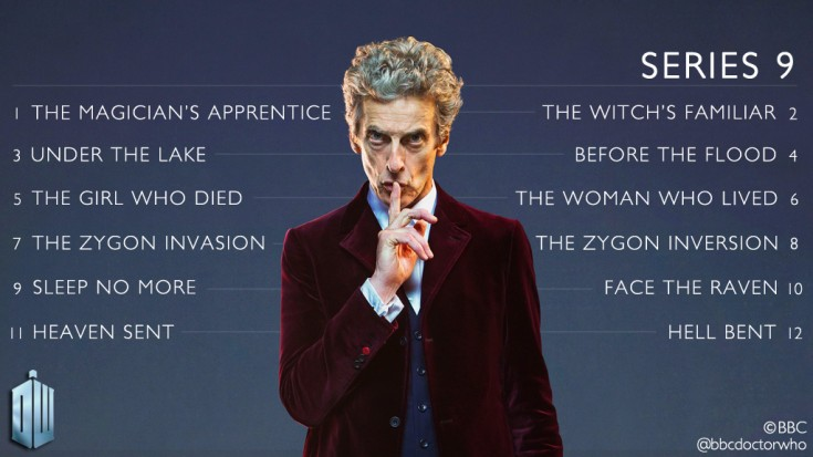Doctor Who Season 9 Titles