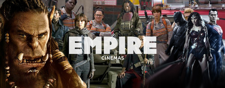 Empire Cinemas' 2016 film recommendations