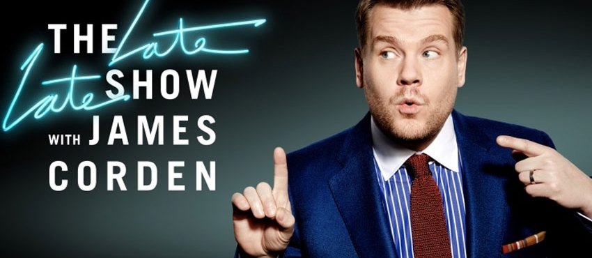 The Late Late Show With James Corden To Air In The UK