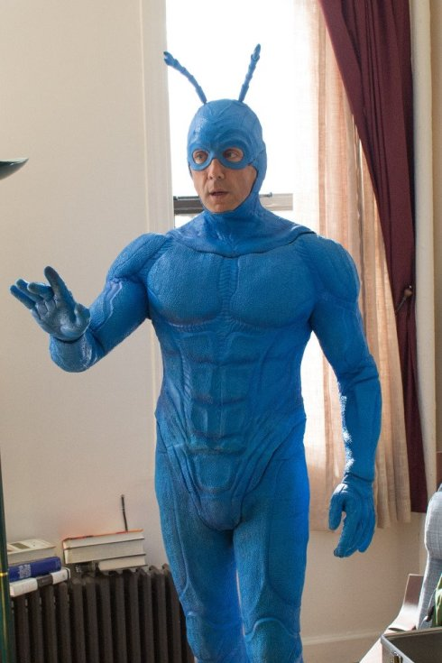 Peter Serafinowicz as The Tick