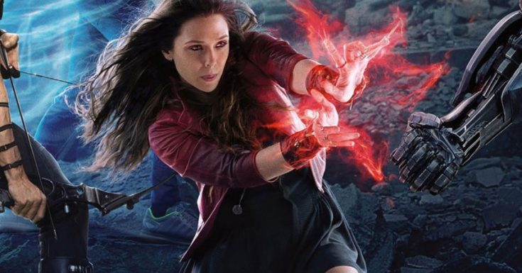 Interview With MCU's Scarlet Witch, Elizabeth Olsen!