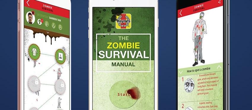 Survive The Zombie Apocalypse With The Haynes Zombie Survival Manual App!