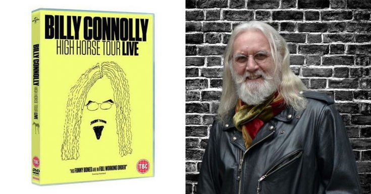 Billy Connolly High Horse Live DVD/Blu-ray Review