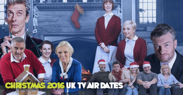 List Of UK Air Dates For TV Christmas Specials 2016