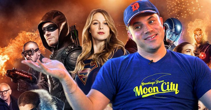 Geoff Johns Teases Another DC Comic Book Show Is Coming...