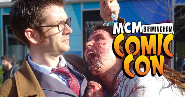 MCM Comic Con Birmingham - March 2017 Round Up