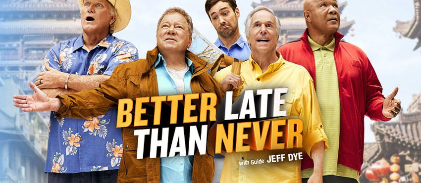 ITV Acquires 'Better Late Than Never' Which Sees Bill Shatner & Henry Winkler Backpack Through Asia