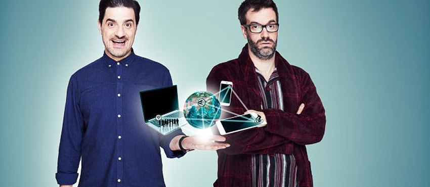 The Joy Of Techs Comes To Dave In May, Starring Marcus Brigstocke & Alexis Conran